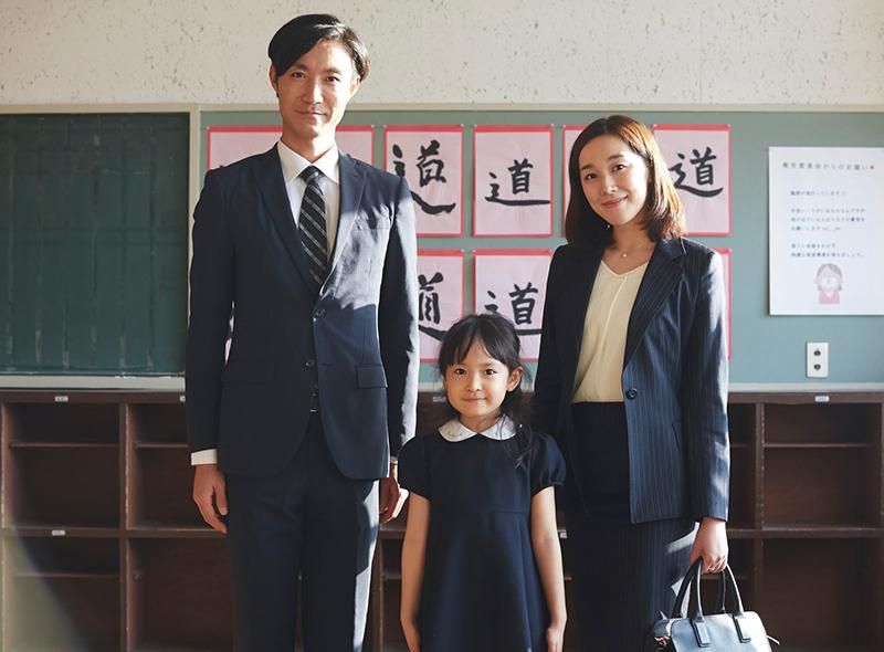 お受験用家族写真のイメージ