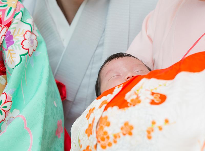 お宮参り写真のイメージ