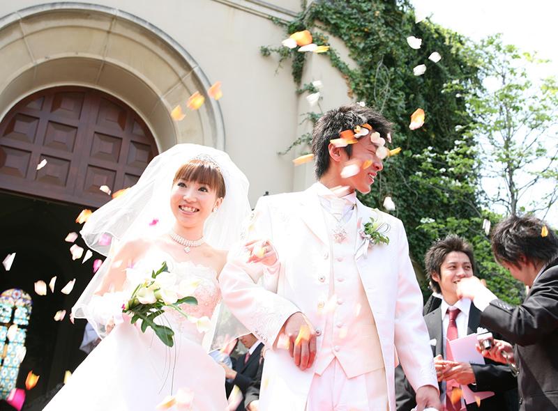 出張撮影による結婚式写真イメージ