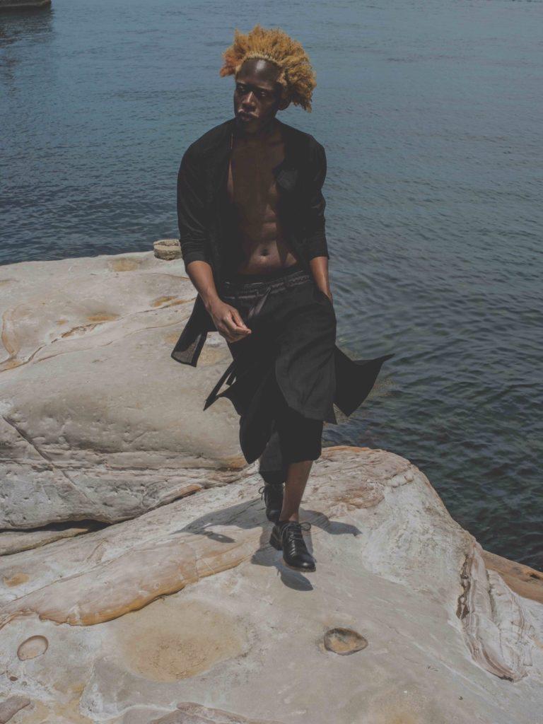 モードファッションロケ撮影