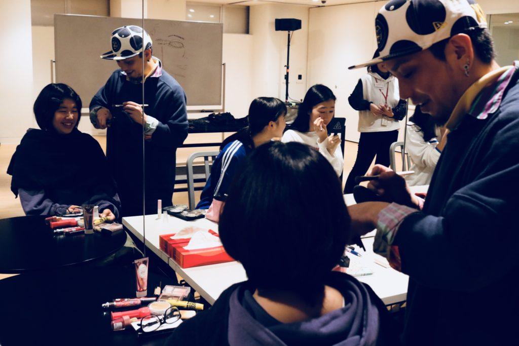 ヘアメイク 講習 EXPG exile LDH プロフィール 撮影 モデル  撮影 大阪 撮影 patrick-osaka 出張 ロケ 講習 撮影