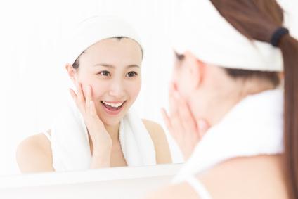 化粧崩れの対策のスキンケア