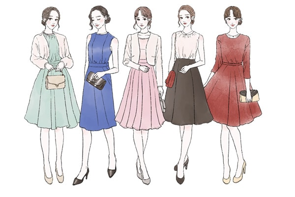 婚活(お見合い)の女性の服装