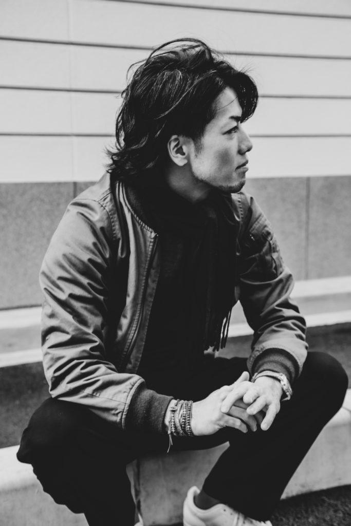 CDのジャケット用プロフィール(宣材)写真