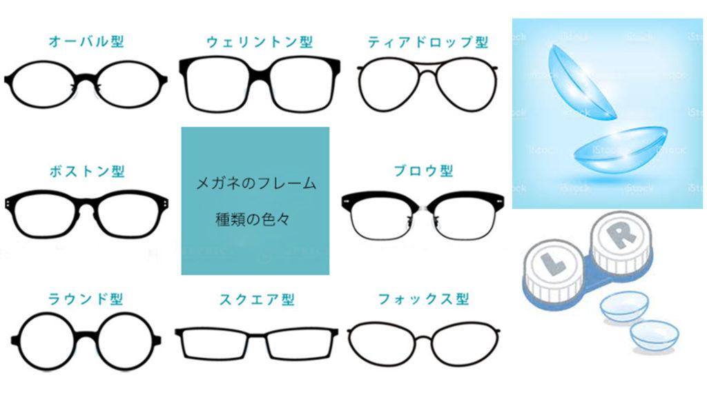 眼鏡やコンタクトを使用してイメージを変える 眼鏡やコンタクトを使って可愛くなる