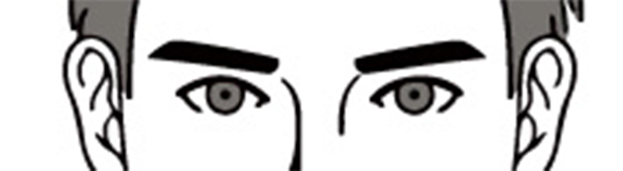 似合う眉毛で男らしさアップする 理想の眉毛で垢抜ける