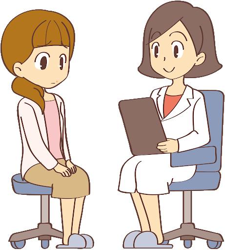 病院の問診のイラスト
