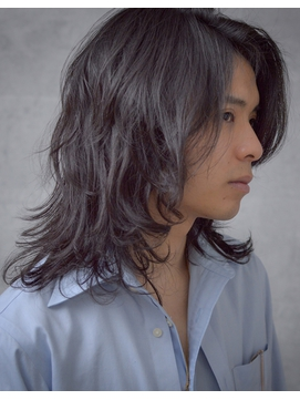 男性ロングの髪型