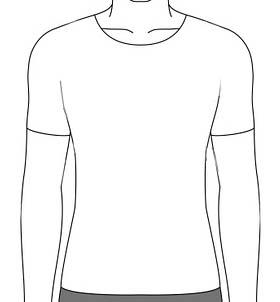 ティーシャツのイラスト