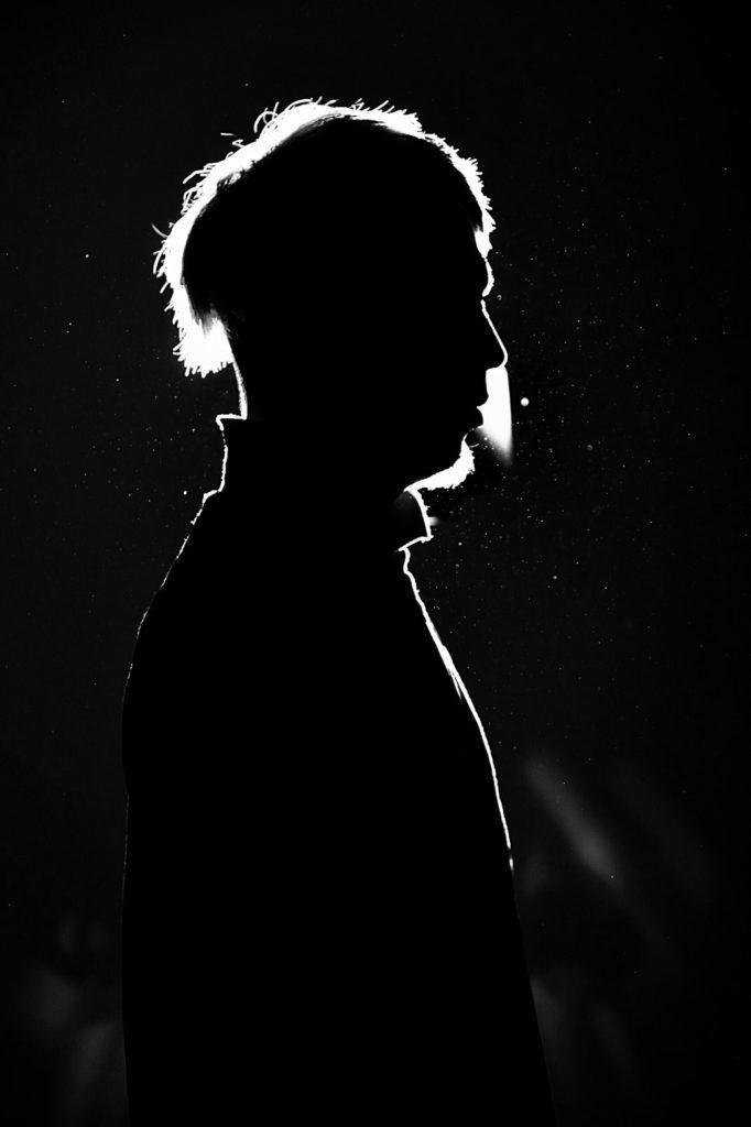 白黒のかっこいい写真撮影