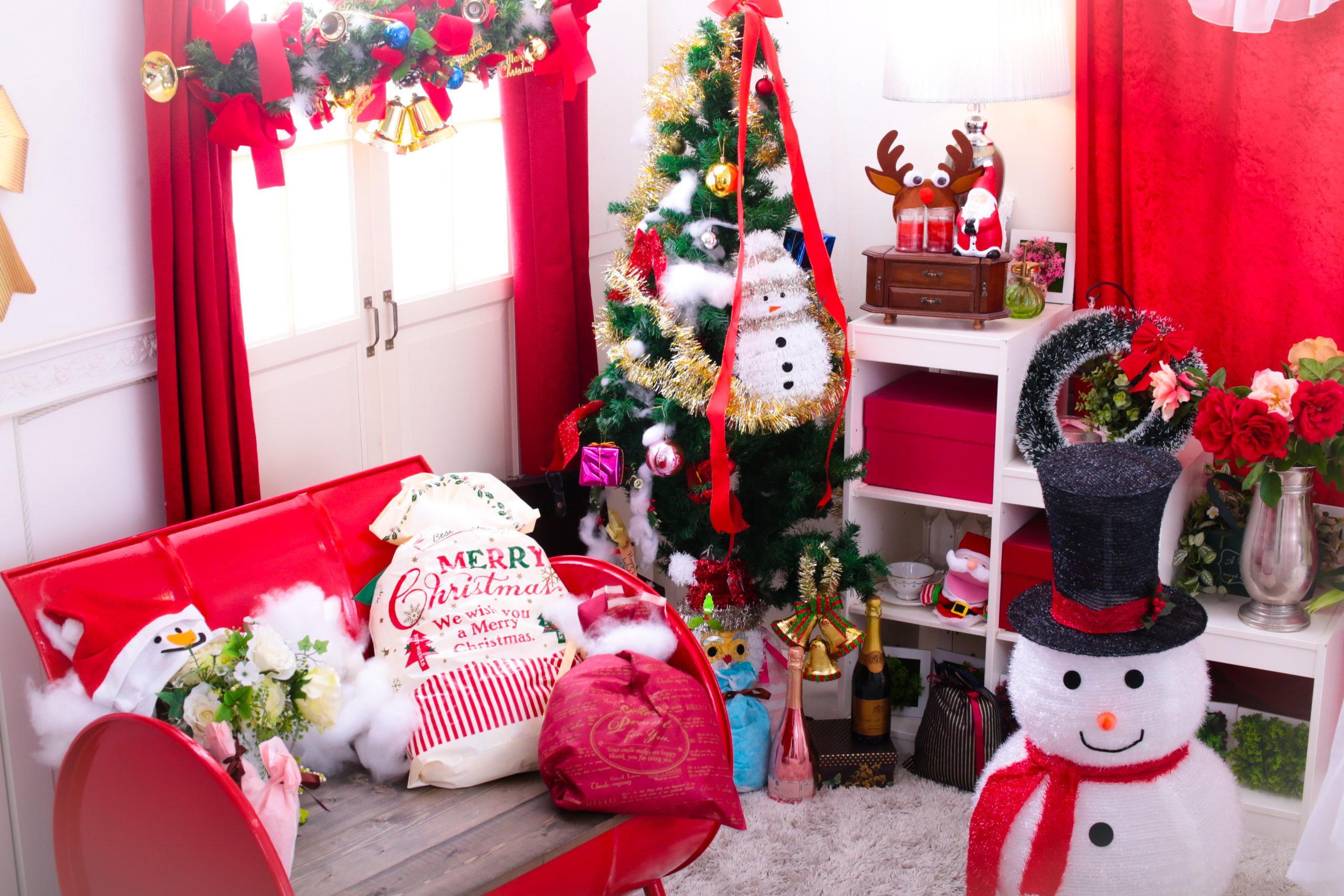 クリスマスの撮影背景