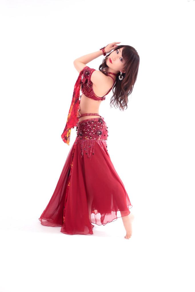 ベリーダンス講師の宣材写真