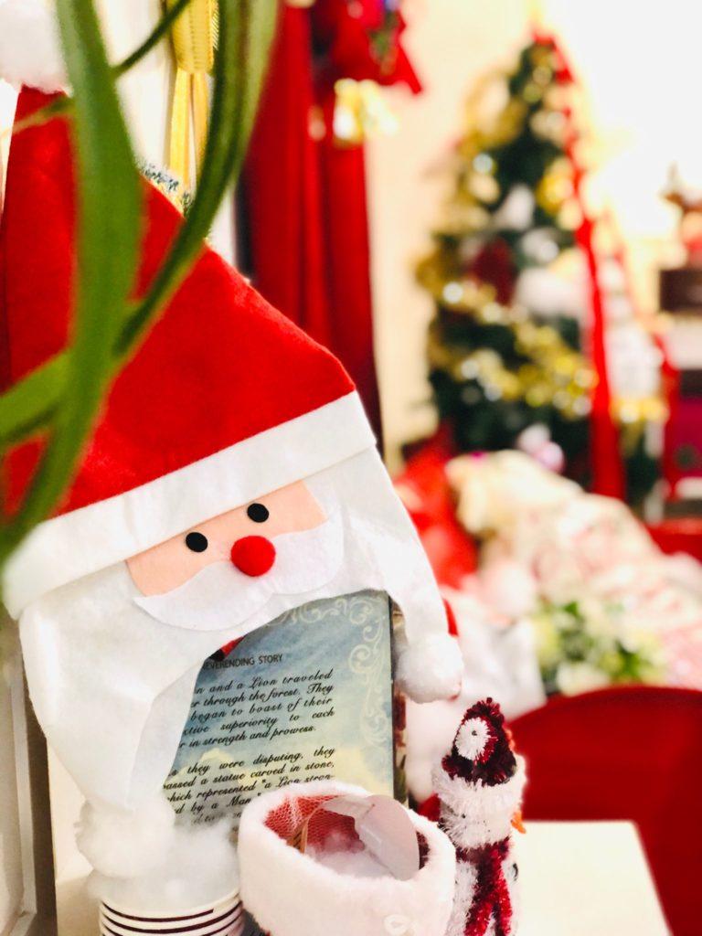 クリスマスの内観