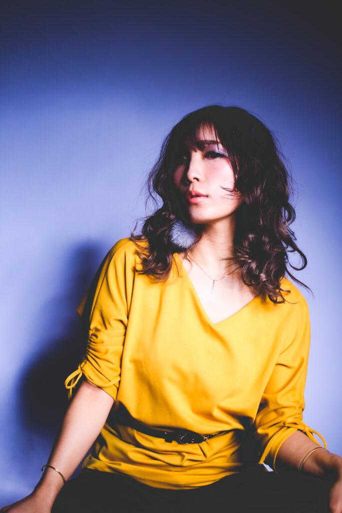パトリック大阪で撮影した女性歌手のSNS写真