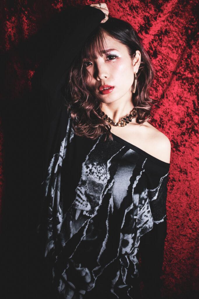 パトリック大阪で撮影したシンガーのジャケット写真