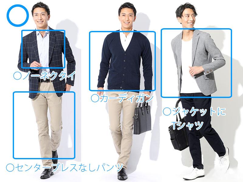 白色の服の男性