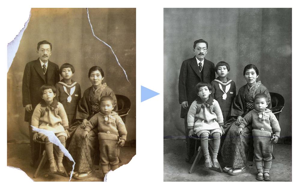 写真の修復